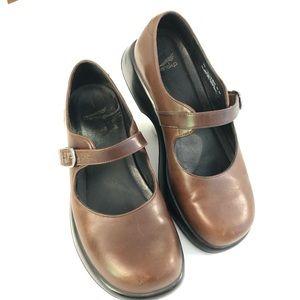 Dansko Brown Leather Maryjane's